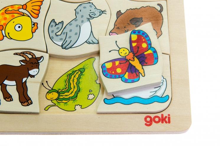 goki Развивающая игра Кто чей