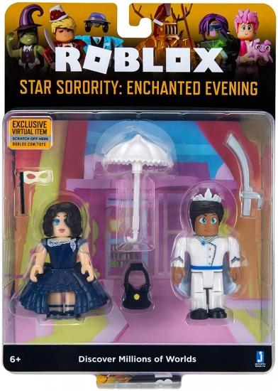 Roblox Игровая коллекционная фигурка Game Packs Star Sorority: Enchanted Evening W6
