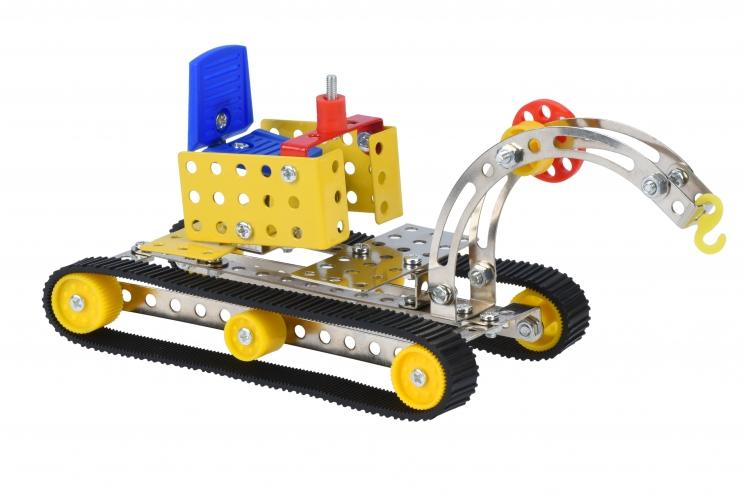 Same Toy Конструктор металлический - Кран (94 эл.)