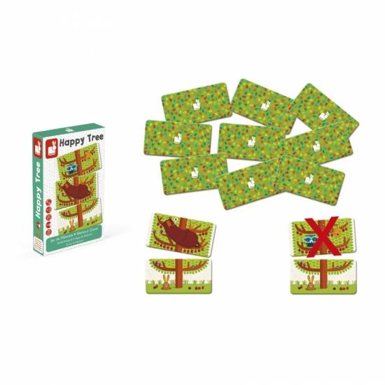 Janod Игра мемо - Счастливое дерево