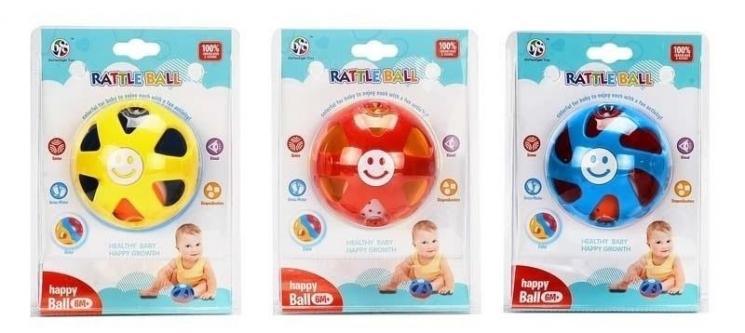 Same Toy Развивающий шар-погремушка