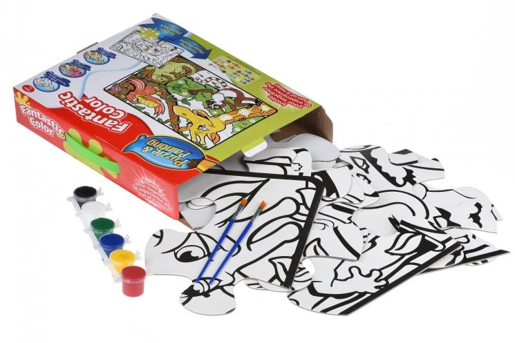 Same Toy Пазл-раскраска Джунгли