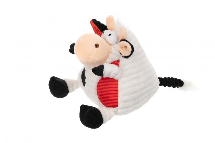 Same Toy Корова/Бык (черно-белый) 18см