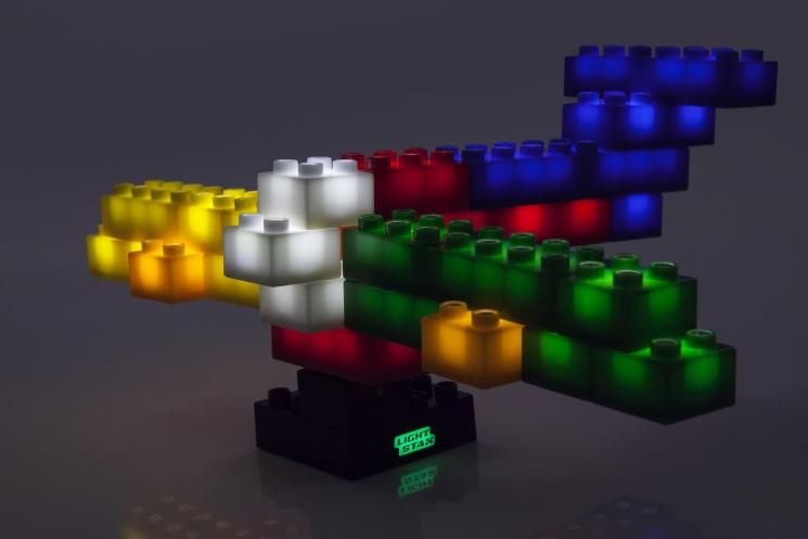 LIGHT STAX Конструктор Junior  с LED подсветкой Complete LS-M05006