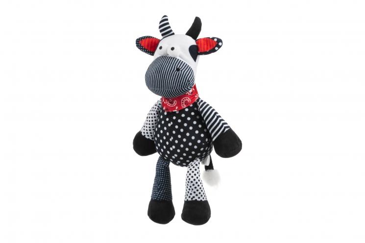 Same Toy Мягкая игрушка Корова/Бык (черно-белый) 30см