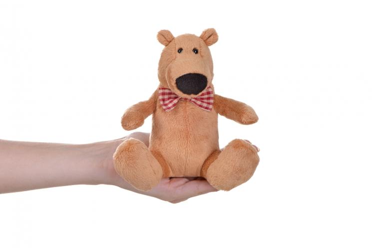 Same Toy Полярный мишка светло-коричневый (13 см)