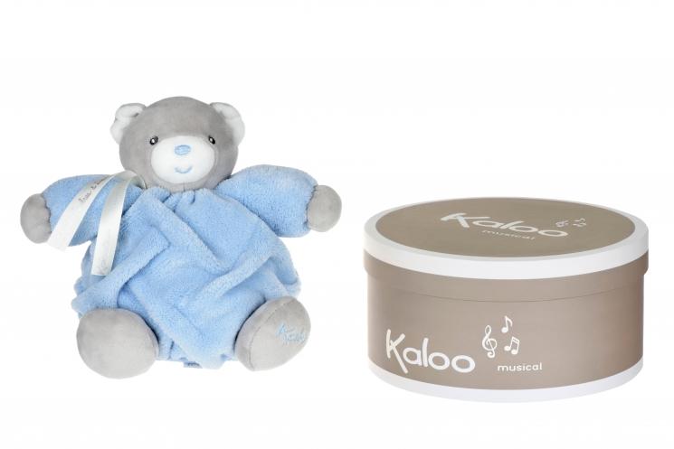 Kaloo музыкальная игрушка Plume Мишка голубой (18 см) в коробке
