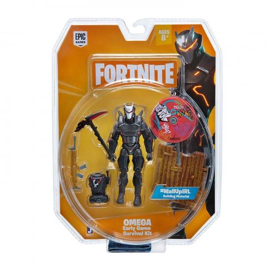 Fortnite Коллекционная фигурка Survival Kit Omega, 10 см.