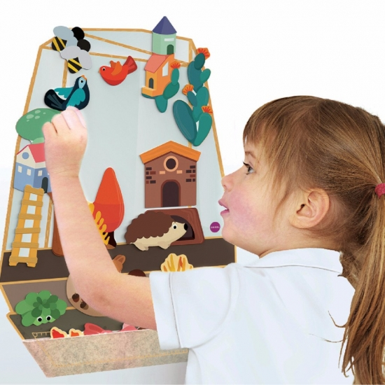 Oribel Настенная игрушка Veritiplay Волшебный сад