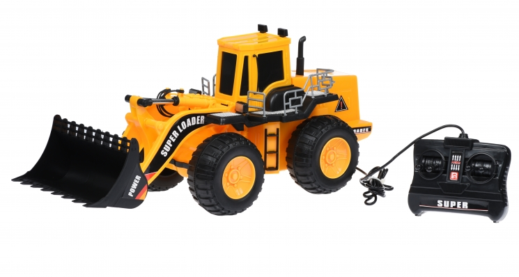 Same Toy Машинка Super Loader Трактор фронтальный погрузчик