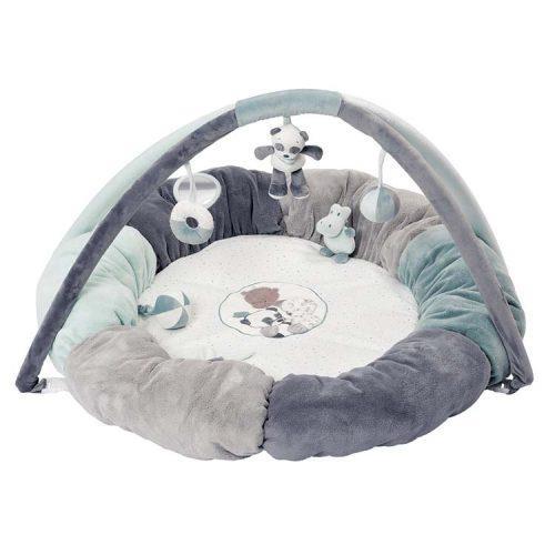 Nattou Развивающий коврик с дугами и подушками Лулу, Лея и Ипполит