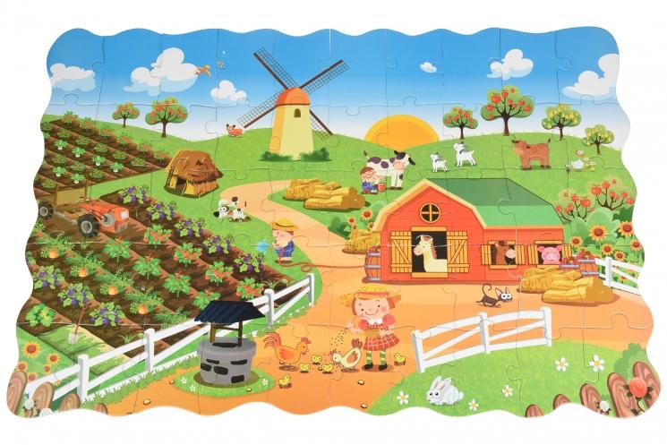 Same Toy Пазл-раскраска Ферма