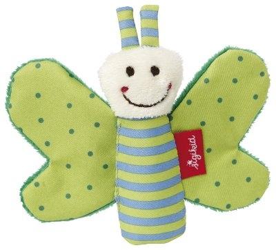 sigikid Бабочка зеленая (9 см)