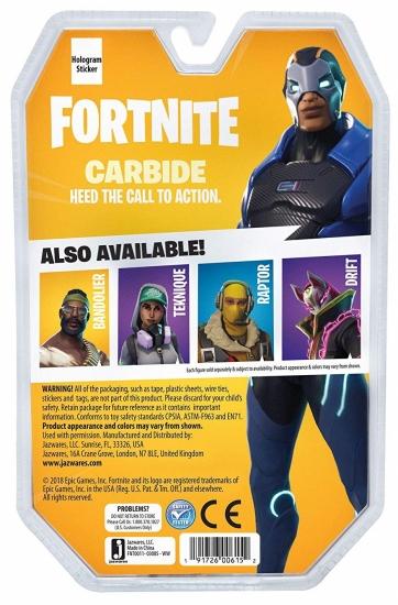 Fortnite Коллекционная фигурка Solo Mode Carbide, 10 см.