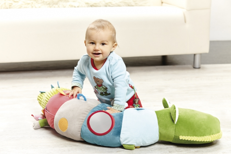sigikid развивающая игрушка Крокодил (96 см)