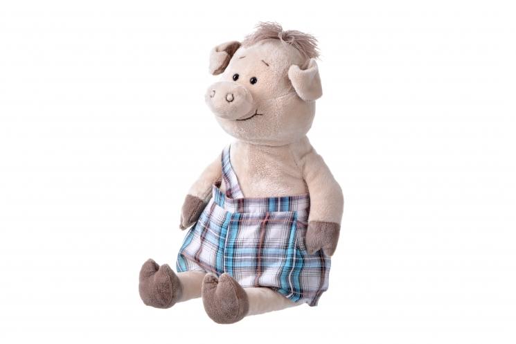 Same Toy Свинка в комбинезоне (45 см)