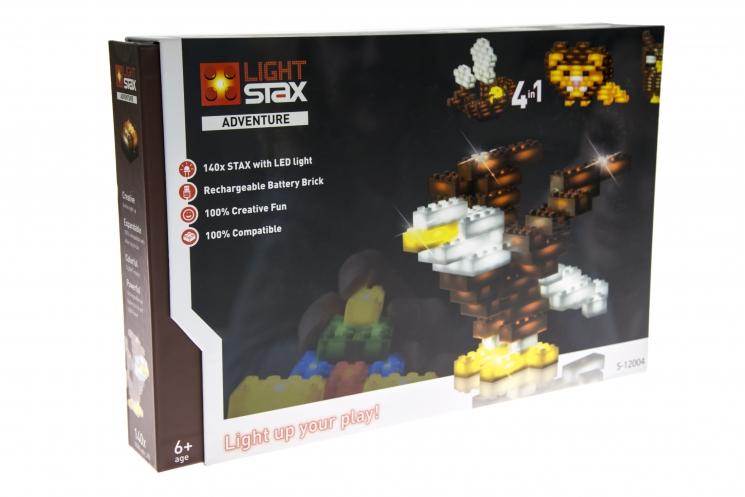 LIGHT STAX Конструктор LED подсветкой Adventure LS-S12004
