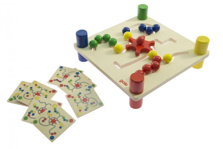 goki Развивающая игра Разноцветные шары