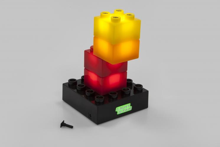 LIGHT STAX Конструктор Junior с LED подсветкой Advanced LS-M05001