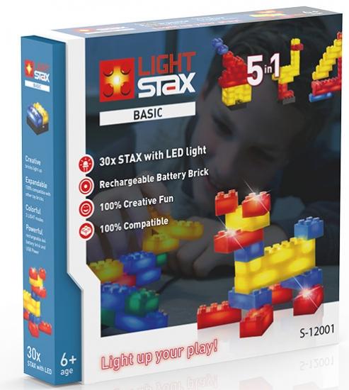 LIGHT STAX Конструктор с LED подсветкой Basic LS-S12001