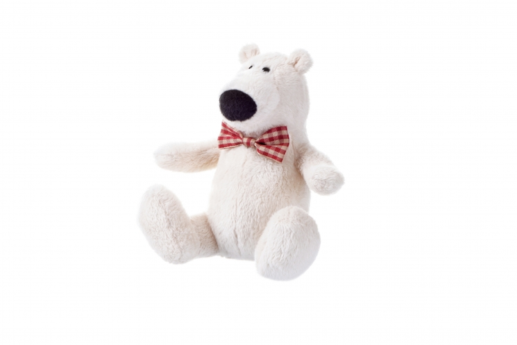 Same Toy Полярный мишка белый (13 см)