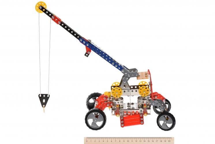 Same Toy Конструктор металлический - Подъемный кран (413 эл.)