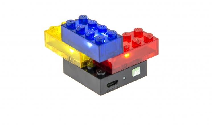 LIGHT STAX Конструктор с LED подсветкой Shine LS-S12003