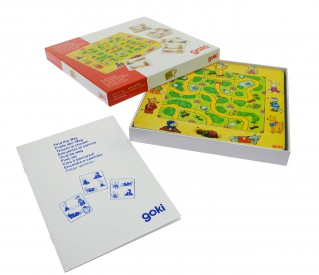 goki Развивающая игра Найди дорогу