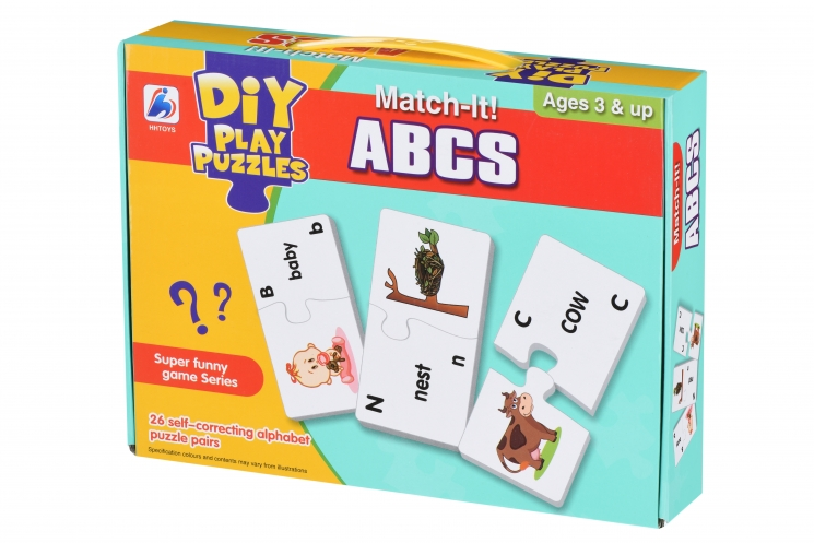 Same Toy Пазл Интересные буквы