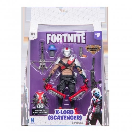 Fortnite Коллекционная фигурка Legendary Series X-Lord - Scavenger S5