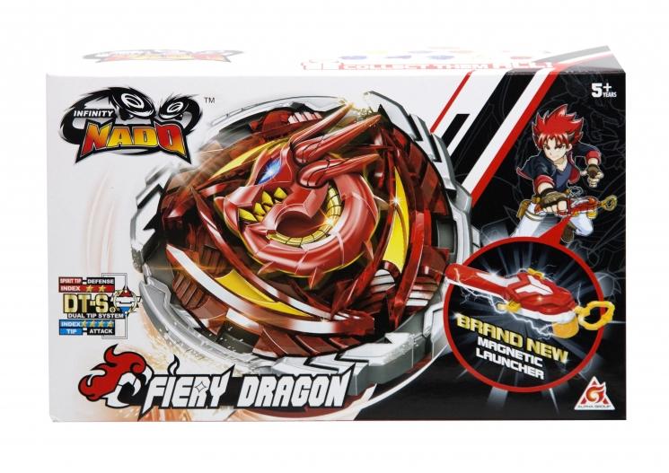 Infinity Nado Волчок Infinity Nado V серия Original Fiery Dragon Огненный Дракон