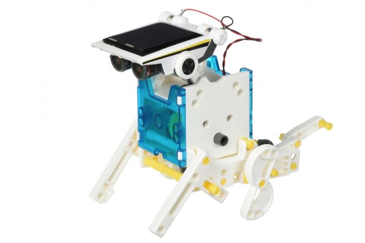 Same Toy Робот-конструктор - Мультибот 14 в 1 на солнечной батарее