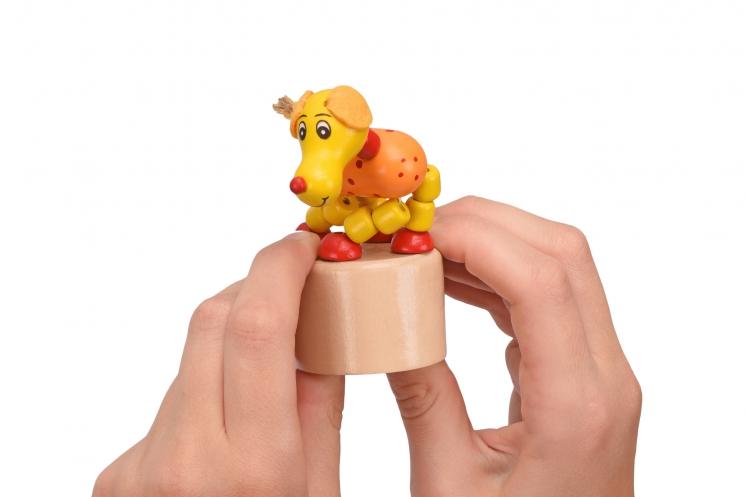 goki Игрушка нажми и тряси - Собачка