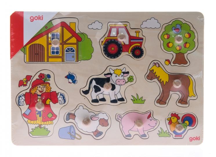 goki Развивающая игра Ферма