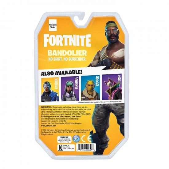 Fortnite Коллекционная фигурка Solo Mode Bandolier, 10 см.