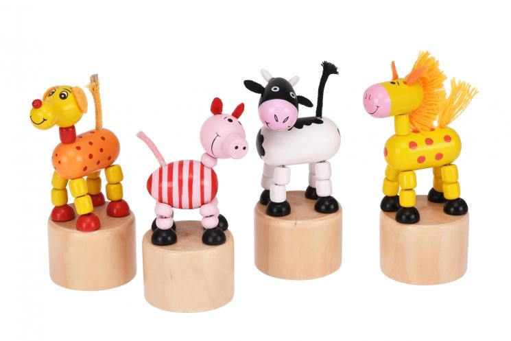 goki Игрушка нажми и тряси - Свинка