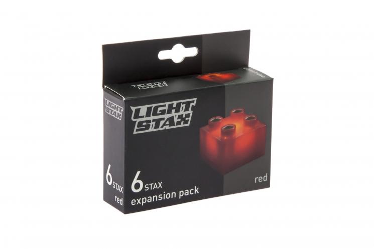 LIGHT STAX Элемент 2х2 Junior с LED подсветкой[Красный]