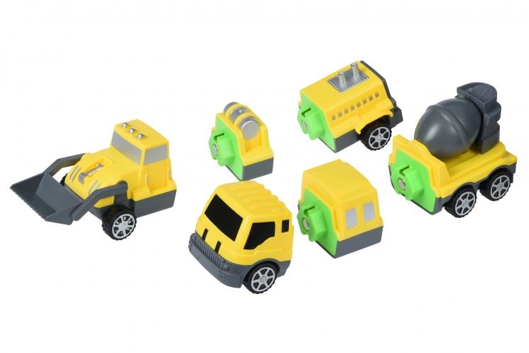 Same Toy Магнитный конструктор - Машина