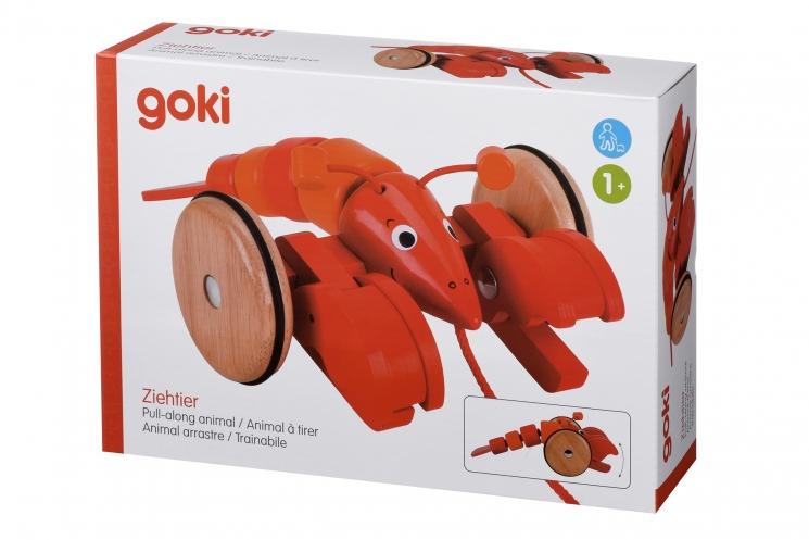 goki Игрушка-толкатель Лобстер