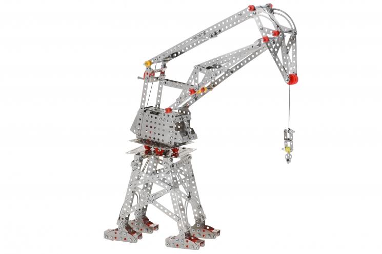 Same Toy Конструктор металлический - Подъемный кран (629 эл.)