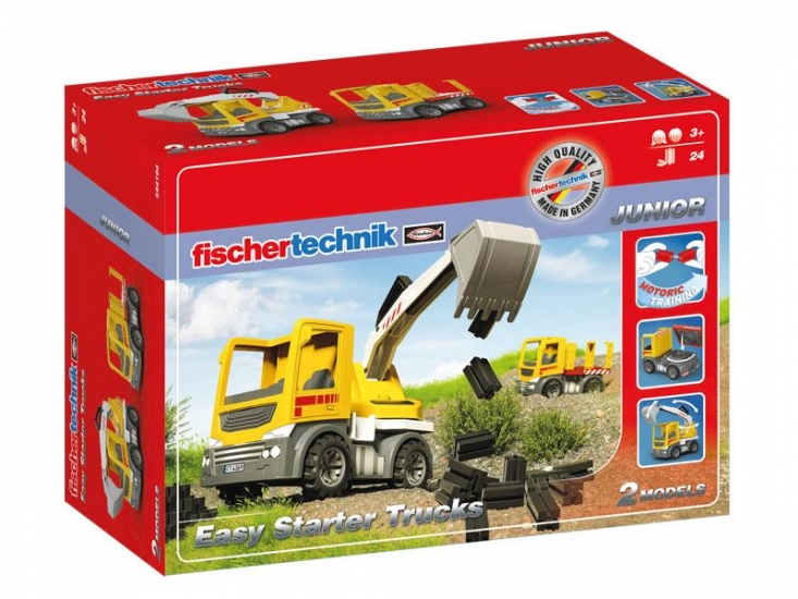 fischertechnik Конструктор JUNIOR Easy Starter Грузовики