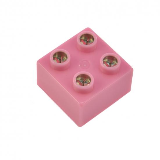 LIGHT STAX Элемент 2х2 Junior с LED подсветкой[Розовий]
