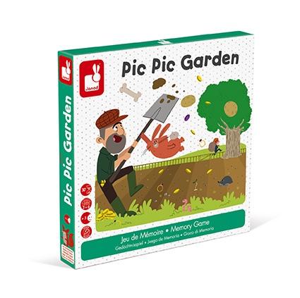 Janod Настольная игра мемо - Сокровища в саду