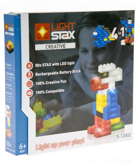 LIGHT STAX Конструктор с LED подсветкой Creative LS-S12002