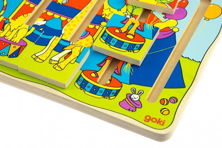 goki Развивающая игра Цирковое шоу
