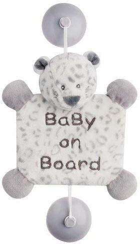 Nattou Ребенок на борту на присосках леопард Лея