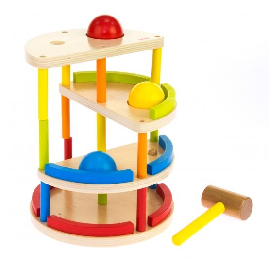 goki Развивающая игра Трекбол с молотком