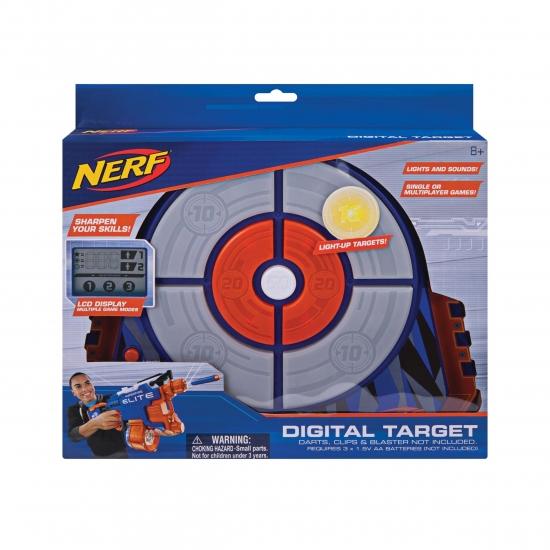 Nerf Игровая электронная мишень Jazwares Nerf Elite Strike and Score Digital Target
