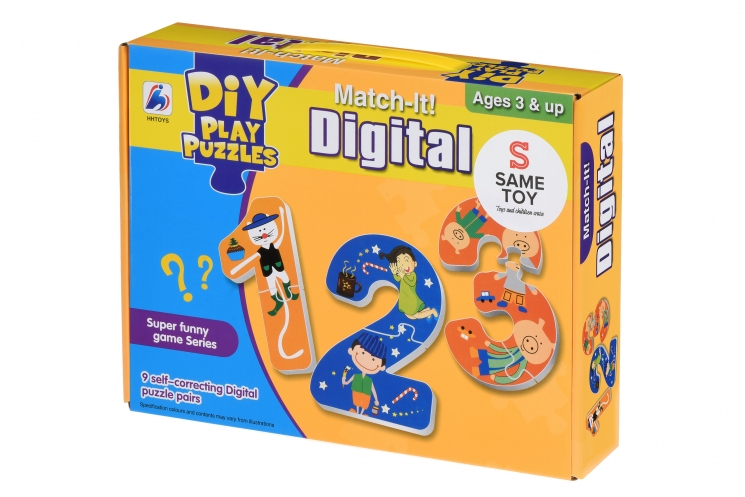 Same Toy Пазл Счастливые цифры