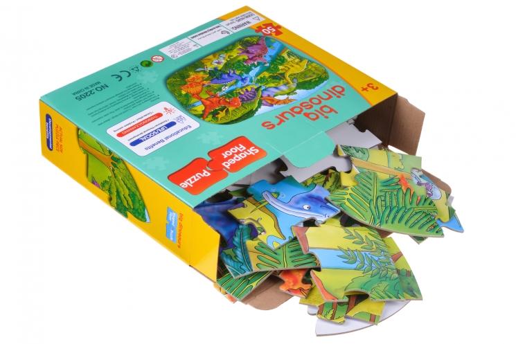 Same Toy Пазл Большие динозавры
